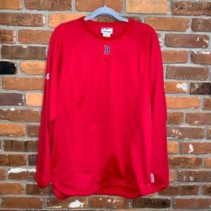 Boston Red Sox Therma Base LS Pullover Size Large
